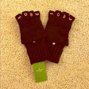 Kate spade meawww gloves